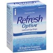 Refresh Optive® Lubricant Eye Drops 30-0.01 fl. oz. Tubes