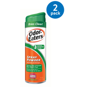 (2 Pack) Odor-Eaters Deodorant Foot Spray, Eliminates Odor, Anti-fungal, 4 oz.