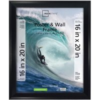"Mainstays 16"" x 20"" Casual Black Poster Frame"