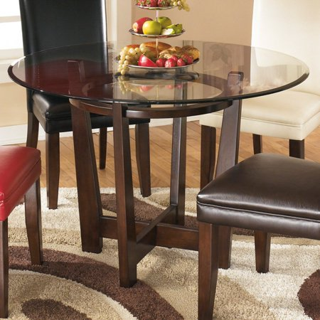 Signature Design By Ashley Charrell Round Dining Table Walmartcom