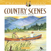 Creative Haven Coloring Books: Country Scenes Coloring Book (Paperback)