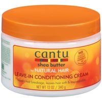 Cantu Shea Butter for Natural Hair Leave In Conditioning Repair Cream, 12 Oz