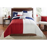 Mainstays Texas Star Bed in a Bag Coordinating Bedding Set, Queen
