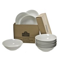 10 Strawberry Street Caterers Set Round Cereal Bowl Set of 12 - 6 in.