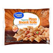 Great Value Pepperoni Pizza Snack Rolls, 40 rolls, 20 oz