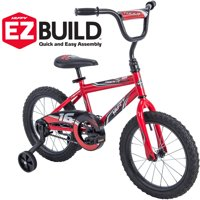 "Huffy 16"" Rock It EZ Build Bike, Red"
