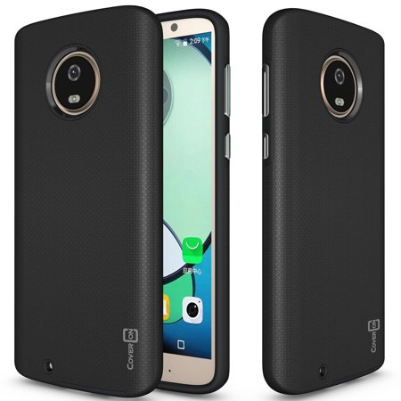 CoverON Motorola Moto G6 Case, Rugged Series Protective Hybrid Phone Cover