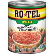 RO*TEL Mild Diced Tomatoes and Green Chilies, 28 Ounce