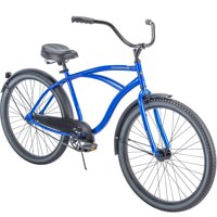 "Huffy 26"" Cranbrook Mens Comfort Cruiser Bike, Matte Blue"