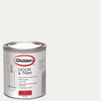 Glidden Door & Trim Paint, Grab-N-Go, High Gloss Finish,1 Quart
