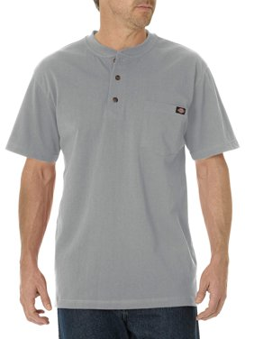 Men's Short Sleeve Heavyweight Henley