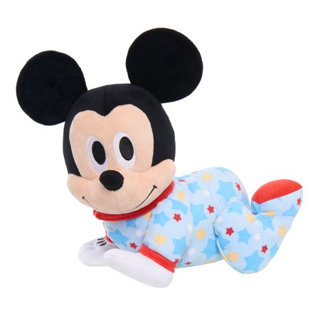 Disney Baby Musical Crawling Pals Plush - Mickey Mouse (Mickey Mouse Colors)