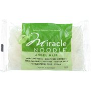 Miracle Noodle Pasta - Shirataki - Miracle Noodle - Angel Hair - 7 Oz - Pack of 6