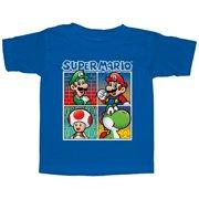 439022ef73 Nintendo Toddler's Super Mario Character Boxes T-Shirt