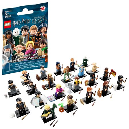 LEGO Minifigures Harry Potter and Fantastic Beasts 71022 Toy of the Year 2019](Building Toys For 7 Year Olds)