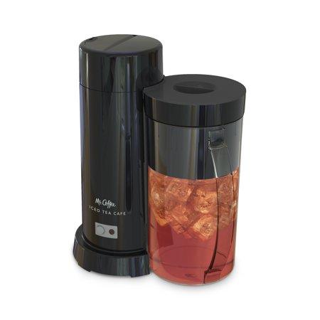 Mr Coffee 2 Quart Iced Tea Amp Iced Coffee Maker Black