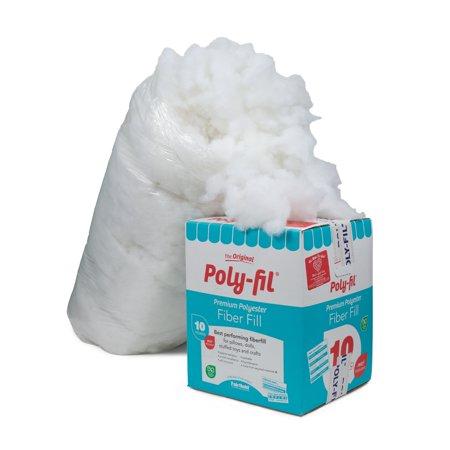 Poly-Fil Premium Polyester Fiberfill - 10 Pound Box ()