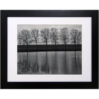"""Better Homes and Gardens Black Picture Frame, 16"""" x 20"""", Matted to 11"""" x 14"""""""
