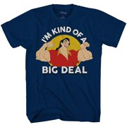 a50a0af6ff545 Disney Mens Beauty and The Beast Gaston Big Deal Disneyland World Tee Funny  Humor Pun Adult