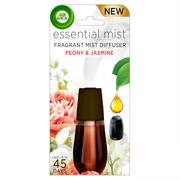 Air Wick Essential Mist Fragrance Oil Diffuser Refill, Peony & Jasmine, 1ct