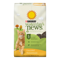 Purina Yesterday's News Unscented Cat Litter, 15-lb Bag