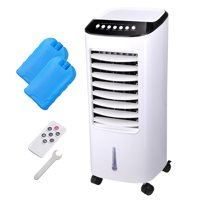 Yescom 65W Evaporative Air Conditioner Cooler Energy Saving Fan Humidifier with Remote Control Ice Boxes Indoor Home Office Dorms