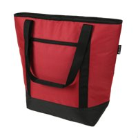 Ozark Trail 50 Can Insulated Cooler Tote, Solid Red