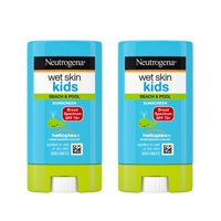 (2 Pack) Neutrogena Wet Skin Kids Sunscreen Stick, SPF 70, 0.47 oz