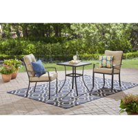 Mainstays Forest Hills  3pc Bistro Set, Tan