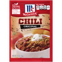 (4 Pack) McCormick Chili Seasoning Mix, 1.25 oz