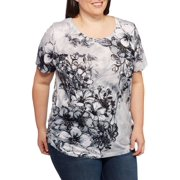7f39dbee168 Women s Plus-Size Printed Sublimation Tee