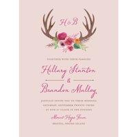 Woodland Fantasy Standard Wedding Invitation