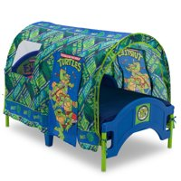 Teenage Mutant Ninja Turtles Plastic Toddler Bed with Tent by Delta Children