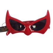 9a32520a369 Batman Sunglasses Red Batgirl Catwoman Bat Cat Style Superhero Costume