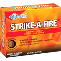 Diamond® Strike-A-Fire® Fire Starters 48 ct Box