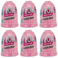 L.O.L. Surprise Glitter Jelly Fashion Crush with 3 Surprises (6-Pack)