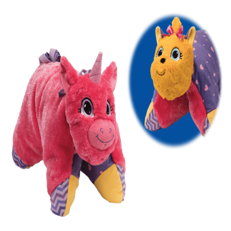 Flip 'N Play Friends 2 in 1 Plush to Pillow Unicorn to