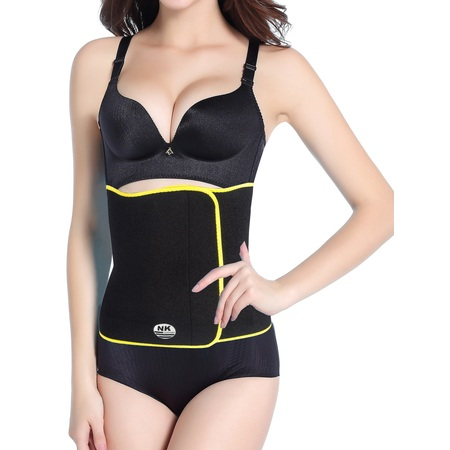 Women's Body Shaper Corset Hot Thermo Sweat Waist Trainer Cincher Tummy Control Slimming Belt Weight Loss Gym Shapewear (Best Tummy Control Shapewear Reviews)