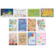 American Greetings Assorted Birthday Cards And White Envelopes 12ct