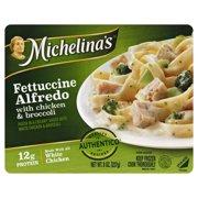 Michelina's® Fettuccine Alfredo with Chicken & Broccoli Frozen Entree 8 oz. Tray