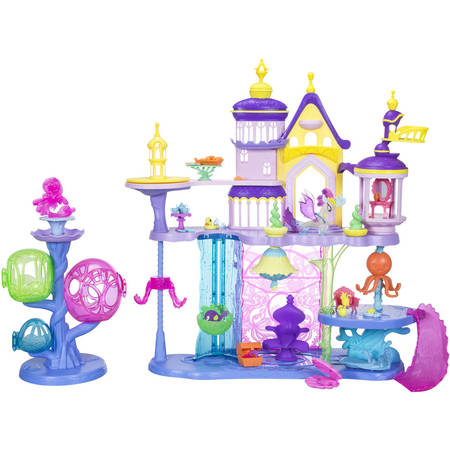 My Little Pony School Supplies (My Little Pony: The Movie Canterlot & Seaquestria Castle with Light-Up)