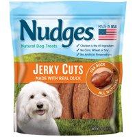 Nudges Duck Jerky Dog Treats, 18 oz.