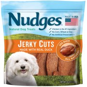 Nudges Duck Jerky Dog Treats, 18 Oz