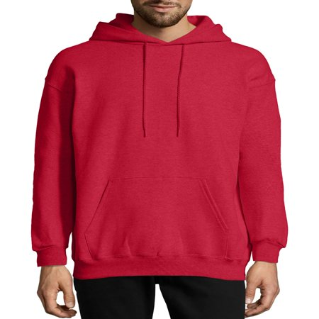 - Men's Ultimate Cotton Heavyweight Fleece Hood with Front Pocket