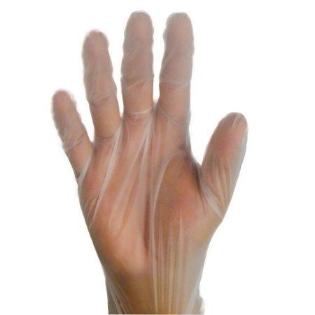 TPE Food Service Disposable Glove, Vinal Gloves, Industrial Grade, Medium 1000 (Service 1000 Piece)
