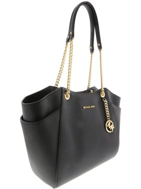 942b680403b Product Image Michael Kors Jet Set Travel Large Chain Shoulder Tote - Black