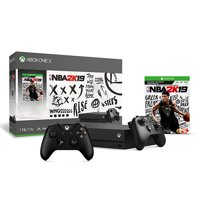 Xbox One X 1Tb NBA 2K19 Bundle + Xbox Wireless Controller - Black