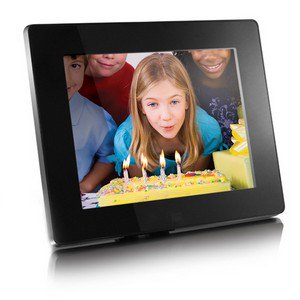 Aluratek 8 Digital Photo Frame With 512mb Built In Memory 800 X
