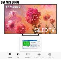 "Samsung QN75Q9FNA QN75Q9 QN75Q9F 75Q9 75"" QLED Smart 4K UHD TV (2018 Model) with SmartThings ADT Home Security Starter Kit - (F-ADT-STR-KT-1)"