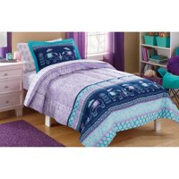 Mainstays Kids Elle Boho Bed in a Bag Complete Bedding Set